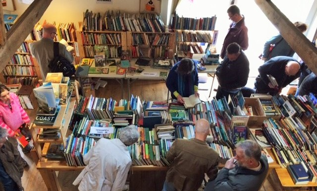Huge Charity Book Sale, Morston Barn, Binham Lane, Morston Norfolk NR25 7AA | A huge CHARITY book sale in aid of Friends of Morston Church is taking place in Morston on the North Norfolk Coast | books, secondhand, bargain, refreshments, children's, indoors, charity, Morston